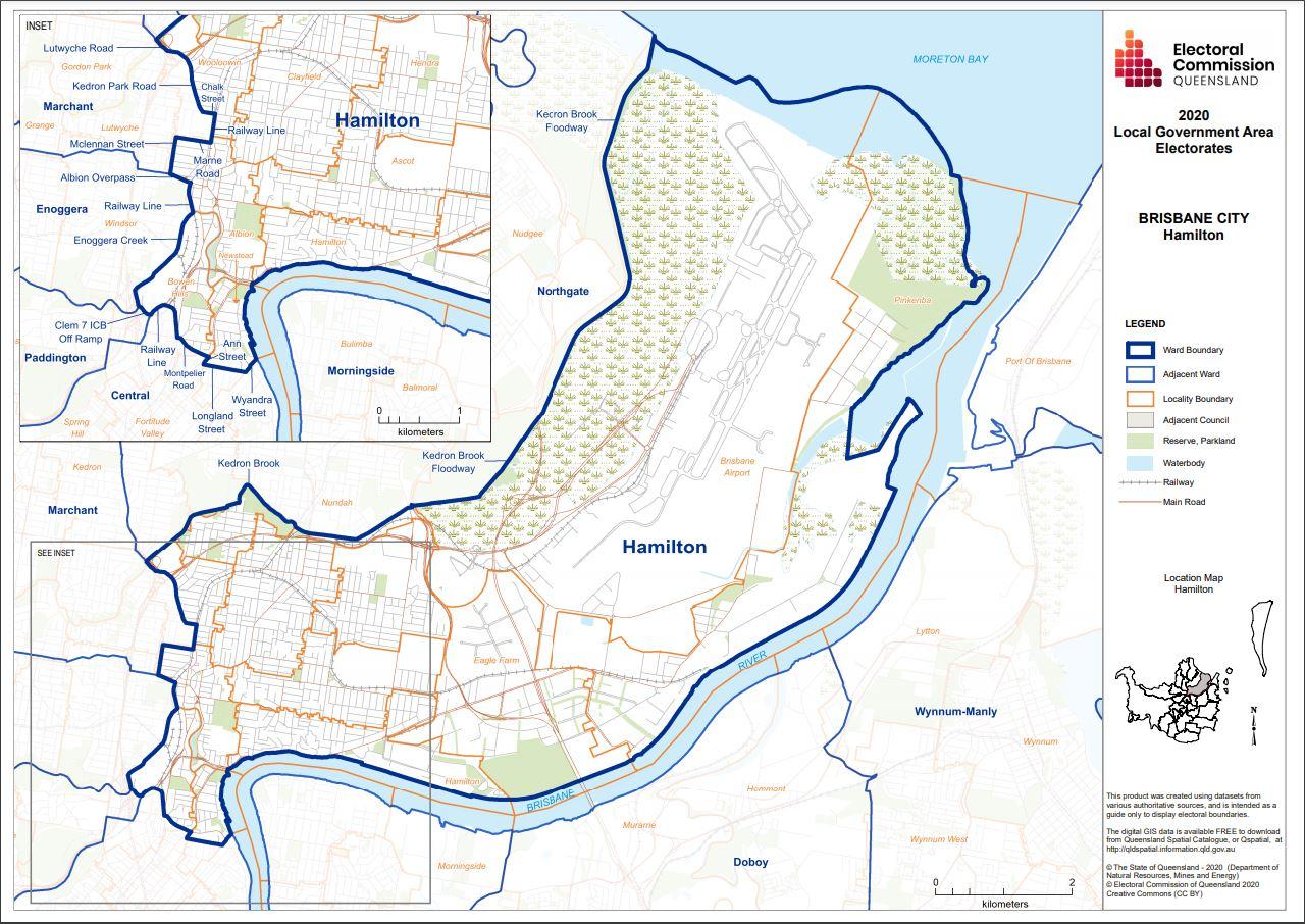 Brisbane City Hamilton